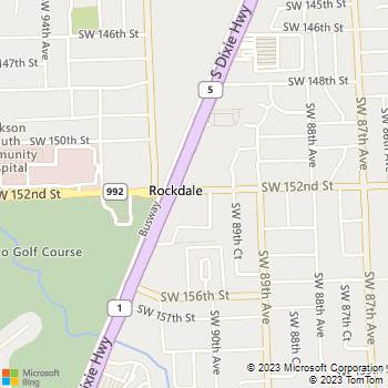Map - In Balance PT - 9040 SW 152nd St- - Miami, FL, 33157