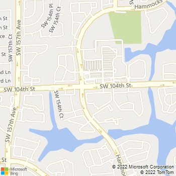 Map - Hammocks Place - 15280 SW 104th St - Miami, FL, 33196