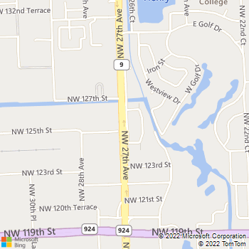 Map - Kings Terrace - 12555 NW 27th Ave - Miami, FL, 33167