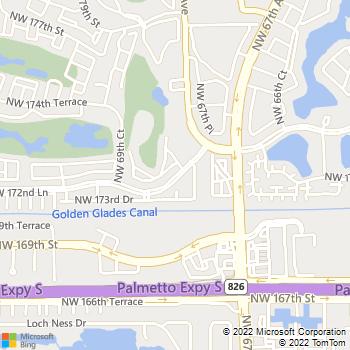 Map - Fairway View Apartments - 6881 NW 173rd Dr - Hialeah, FL, 33015