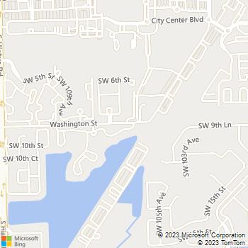 Map - The Landings at Pembroke Lakes - 10650 Washington Street - Hollywood, FL, 33025