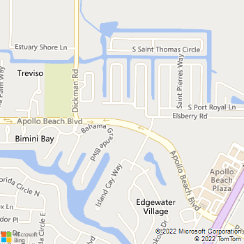 Map - Nicole Cameron, P.A. - 437 Apollo Beach Blvd. - Apollo Beach, FL, 33572