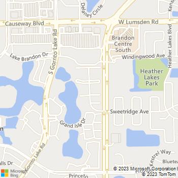 Map - Broadstone Westbury - 1210 Westbury Pointe Drive - Brandon, FL, 33511
