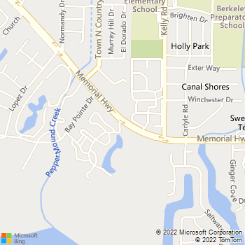 Map - Audubon Village - 5830 Memorial Hwy - Tampa, FL, 33615