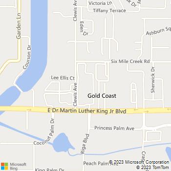 Map - Sabal Park - 4006 Sabal Park Drive - Tampa, FL, 33610