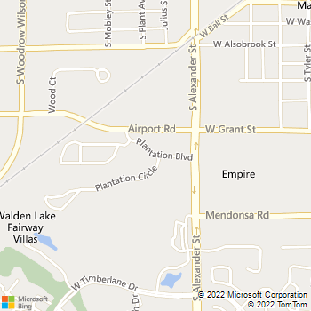 Map - Hunters Ridge At Walden Lake - 1400 Plantation Blvd - Plant City, FL, 33566