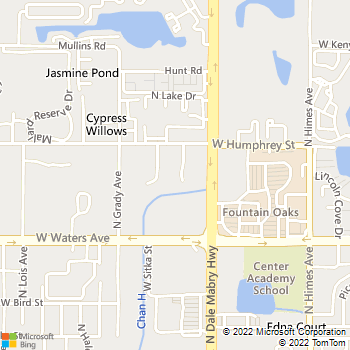 Map - VCA Tampa Bay Animal Hospital - 8501 La Due Lane - Tampa, FL, 33614
