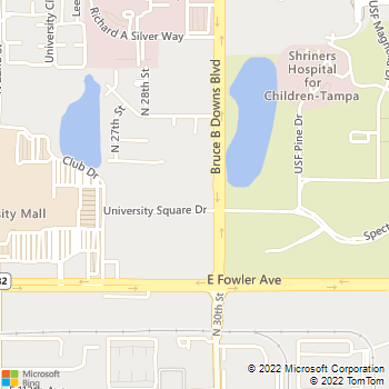 Map - University Square - 2900 University Square Dr - Of - Tampa, FL, 33612