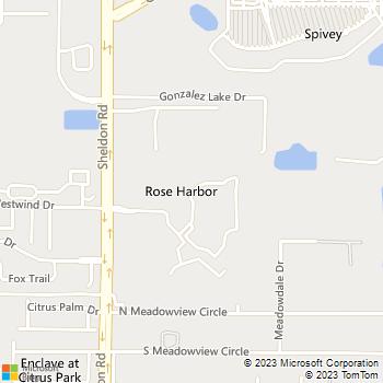 Map - Citrus Falls Luxury Apartments - 12011 Citrus Falls Cir - Tampa, FL, 33625