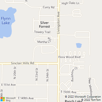 Map - Preserve at Deer Park - 15420 Livingston Ave - Lutz, FL, 33559