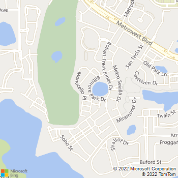 Map - Estates at Park Avenue - 2801 Biltmore Park Dr - Orlando, FL, 32835