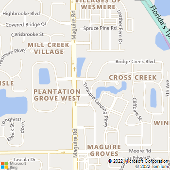 Map - Key Isle At Windermere - 2415 Treasure Landing Pkwy - Ocoee, FL, 34761