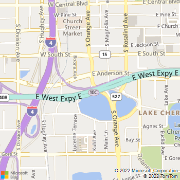 Map - Lake Lucerne Towers - 20 West Lucerne Circle - Orlando, FL, 32801