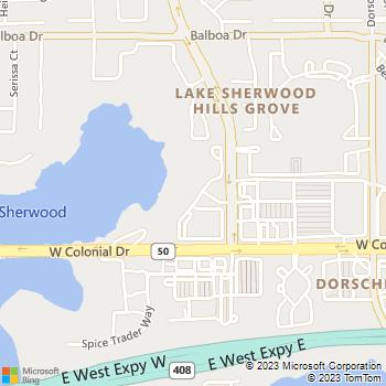 Map - Villa Tuscany - 753 Sherwood Ter Dr - Orlando, FL, 32818