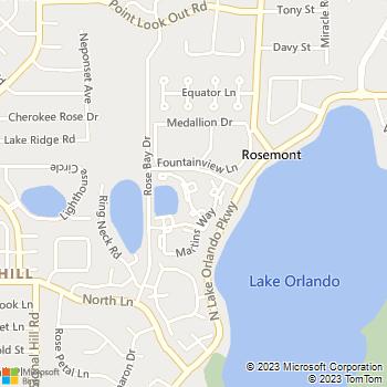 Map - Village Park - 4501 Landing Drive - Orlando, FL, 32808