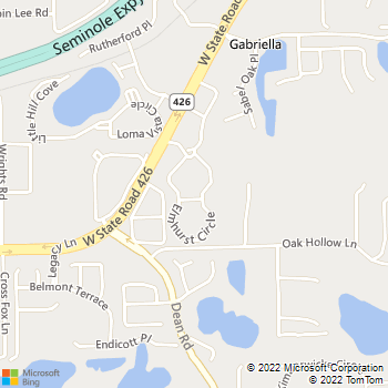 Map - Elmhurst Village - 5691 Elmhurst Cir - Oviedo, FL, 32765