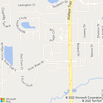 Map - Tradition At Alafaya - 2590 Greenhill Way - Oviedo, FL, 32765