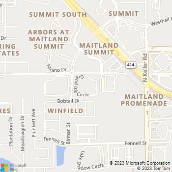 Map - The Grand Reserve At Maitland Park - 1939 Grand Isle Cir - Orlando, FL, 32810