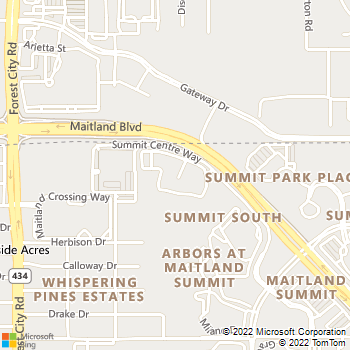 Map - Estates At Maitland Summit - 9000 Summit Centre Way - Orlando, FL, 32810