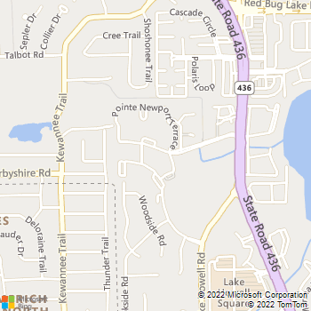 Map - IMT Newport Colony - 1166 Pointe Newport Terrace - Casselberry, FL, 32707