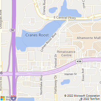 Map - The Lofts At Uptown Altamonte - 285 Uptown Blvd - Altamonte Springs, FL, 32701