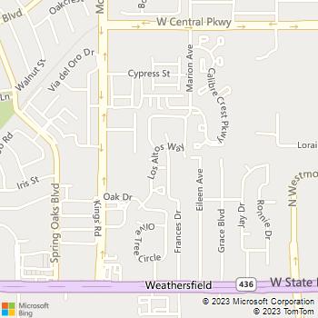 Map - Los Altos at Altamonte Springs - 311 Los Altos Way - Altamonte Springs, FL, 32714