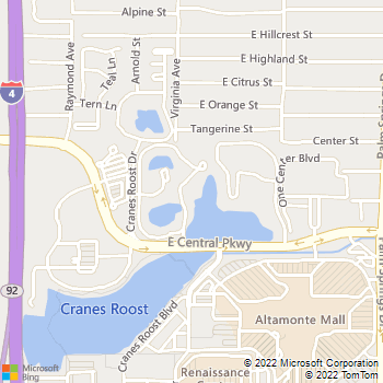 Map - Altamira Place Apartment Homes - 700 Altamira Cir - Altamonte Springs, FL, 32701