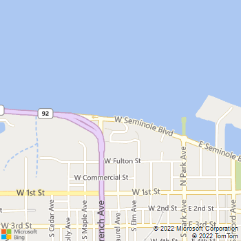 Map - Sailpointe At Lake Monroe - 401 West Seminole Boulevard - Sanford, FL, 32771
