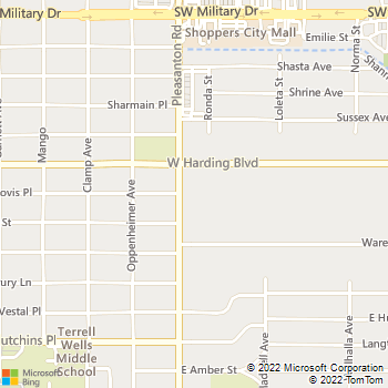 Map - VCA Mission Animal Hospital - 2822 Pleasanton Rd - San Antonio, TX, 78221