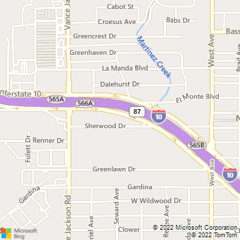 Map - The Gordon Law Firm, P.C. - 5820 IH-10 West, Suite 400 - San Antonio, TX, 78201