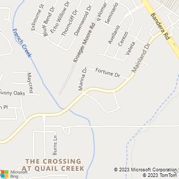 Map - Pet Medical Center - 7811 Mainland Dr - San Antonio, TX, 78250