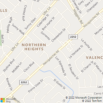 Map - El Dorado Animal Hospital - 13039 Nacogdoches Road - San Antonio, TX, 78217