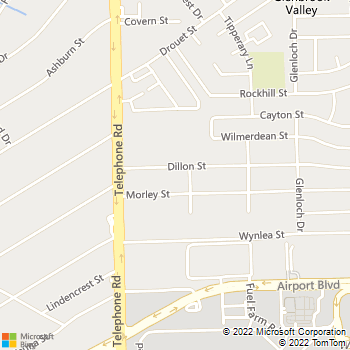 Map - Curry Inc - 7558 Dillon St - Houston, TX, 77061