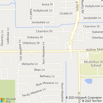 Map - Kool Smiles - 3840 Aldine Mail Rd - Houston, TX, 77039