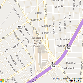 Map - Kool Smiles - 6 Westside Shopping CTR - Gretna, LA, 70053