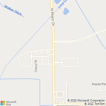 Map - West End Lodge - 4215 North Major Dr - Beaumont, TX, 77713