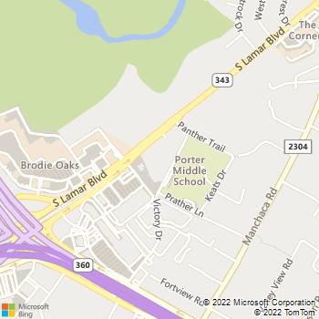 Map - Select Physical Therapy - 3901 South Lamar Blvd - Austin, TX, 78704