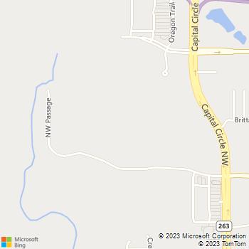 Map - Capital Walk Apartments - 850 Capital Walk Drive - Tallahassee, FL, 32303