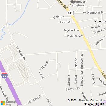 Map - Sylvan Learning Center - 1709 River St - Valdosta, GA, 31601