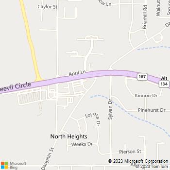 Map - Animal Health Center - 1107 Boll Weevil Circle - Enterprise, AL, 36330