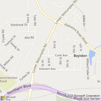 Map - Mr. Mac Plumbing, LLC - 224 2nd Street - Montgomery, AL, 36110