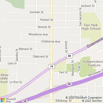 Map - Kool Smiles - 1200 South Air Depot Rd. - Oklahoma City, OK, 73110