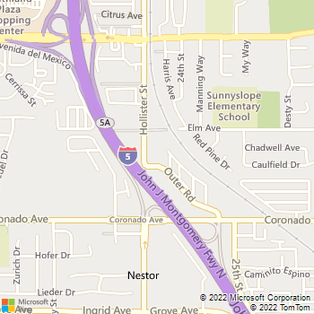 Map - Hollister Creek Village - 945 Hollister Ave - San Diego, CA, 92154