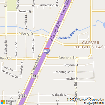 Map - All My Sons Moving & Storage - 3815 E Loop 820 S. - Fort Worth, TX, 76119
