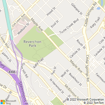 Map - Windsor at Turtle Creek - 2217 Ivan St - Dallas, TX, 75201