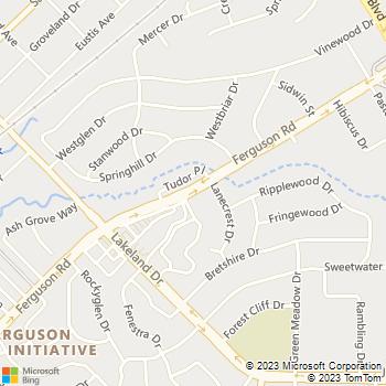 Map - The Vineyards - 8850 Ferguson Road - Dallas, TX, 75228