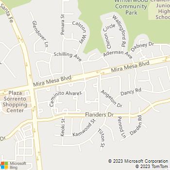 Map - Gables Summerset - 11102 Caminito Alvarez - San Diego, CA, 92126