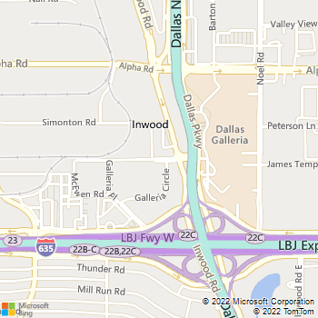 Map - Broadstone Parkway - 5005 Galleria Drive - Dallas, TX, 75244