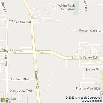 Map - Ventana - 5555 Spring Valley Rd - Dallas, TX, 75254