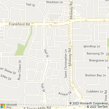 Map - Briargrove at Vail - 3939 Briargrove Ln - Dallas, TX, 75287